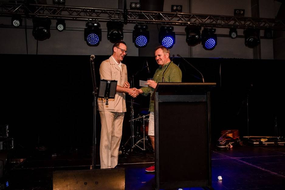 MEERQAT director Phil Cohen gets best dressed award at the ACHSM 2018 Congress