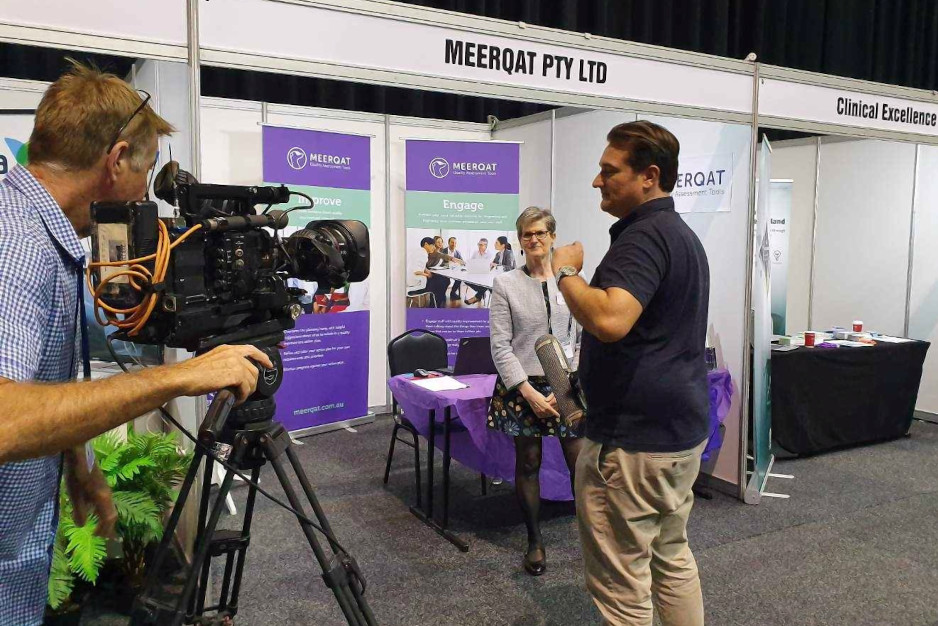 Donna Cohen MEERQAT media interview at ACHSM 2019 congress