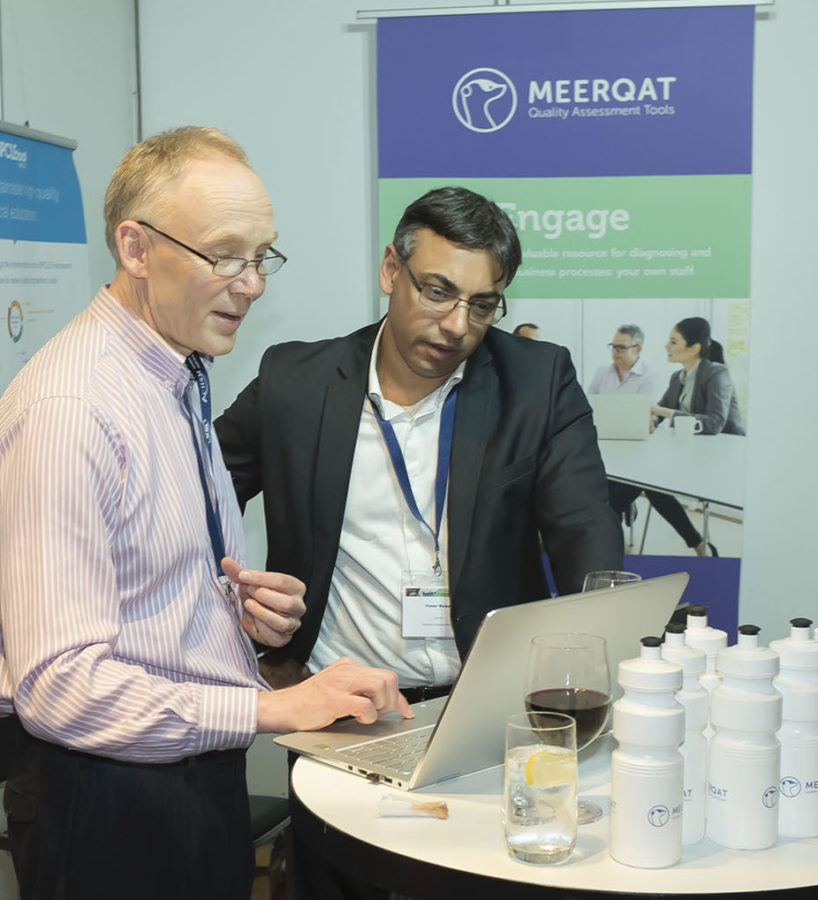 Meet our team. This is Vitas Anderson, Vice President of Software Development at MEERQAT