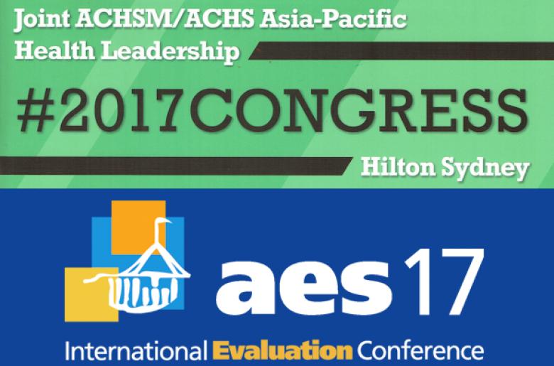 ACHSM ACHS - AES 2017 banners